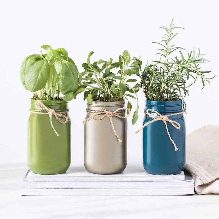 Best Gardening Gifts For Moms Or Grandma Mason Jar Herb Garden