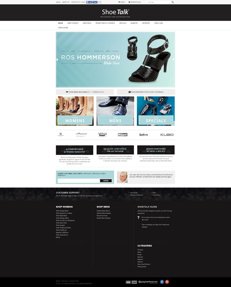 Shoe Talk  - The art and science of good #websitedesign #website #websiteredesign #webdesign #designinsperation #rethinkyourwebsite #layout #redesign #redesignideas #redesigninspiration #creative #landingpages #beforeafter #responsive #leadgeneration #ecommerce #fashion #customize