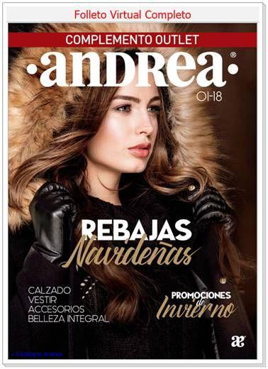 Catálogo Andrea  Rebajas Navideñas 2018 - Ofertas y Promociones ... ea574c490e9