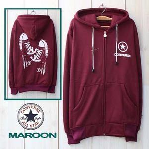 sweater converse/sweater converse murah/jaket converse/converse two maroon/jaket…