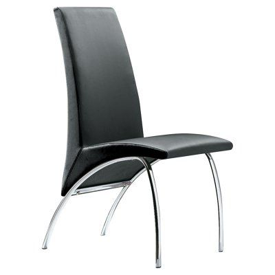 Creative Images International Virgina Dining Chair - Black - Set of 2 - C01_BL