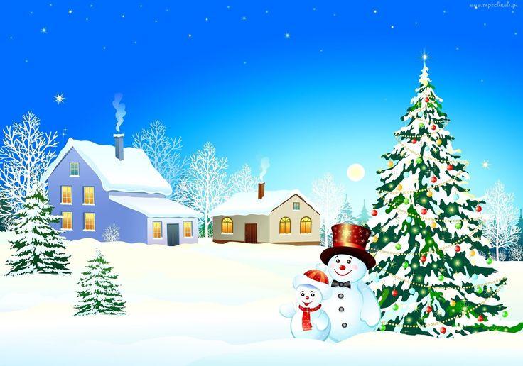 Piosenka dla dzieci Pada snieg, pada śnieg