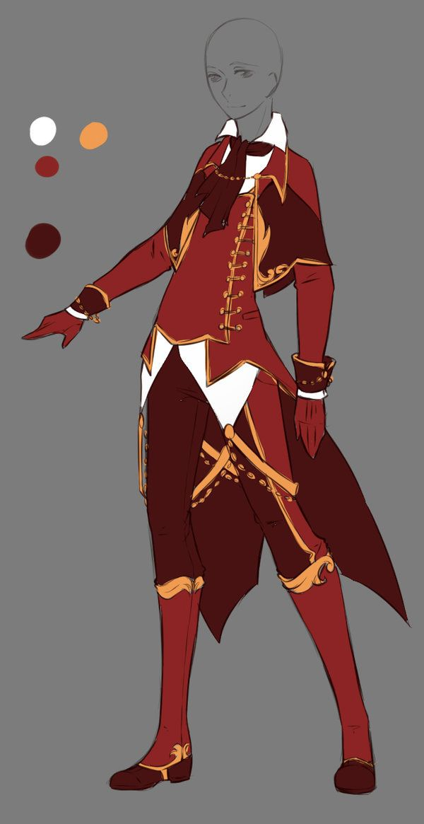 fine anime fighting outfits male 12