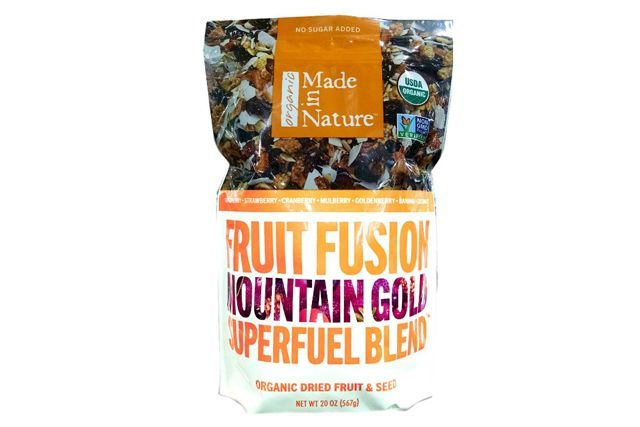 17 Unexpected Foods You Should Be Buying At Costco #refinery29  http://www.refinery29.com/best-costco-food#slide-15  Made In Nature Organic Mountain Gold Superfuel BlendThis healthy dried fruit and seeds mix is the perfect grab-and-go snack for busy days....