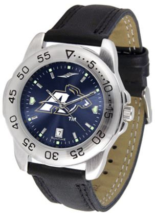 Akron Zips Sport AnoChrome Men's Watch with Leather Band