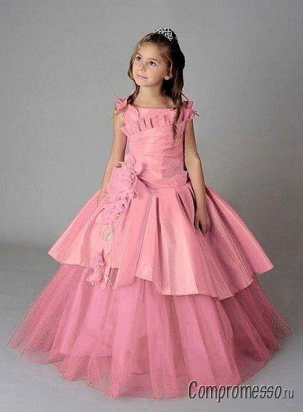 Платье на выпускной вечер в детском саду