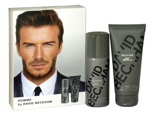 David beckham 2 piece homme gift set