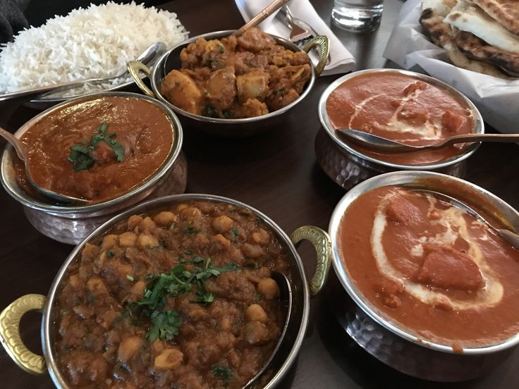 Birthday Dinner at Tamarind in NW community of Panorama #butterchicken #amazingindianfood #aloogobi #channamasala #nannbread