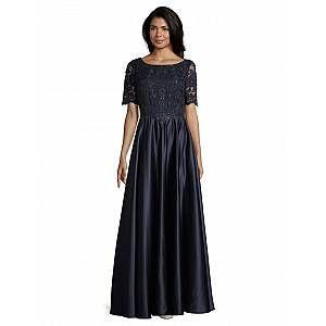 Vera Mont Abendkleid mit Spitze, blau in 2020 | Kleider ...