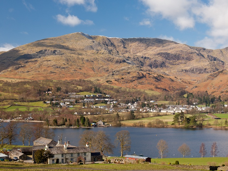 Coniston Water (Swallows and Amazons & Beatrix Potter vacation)