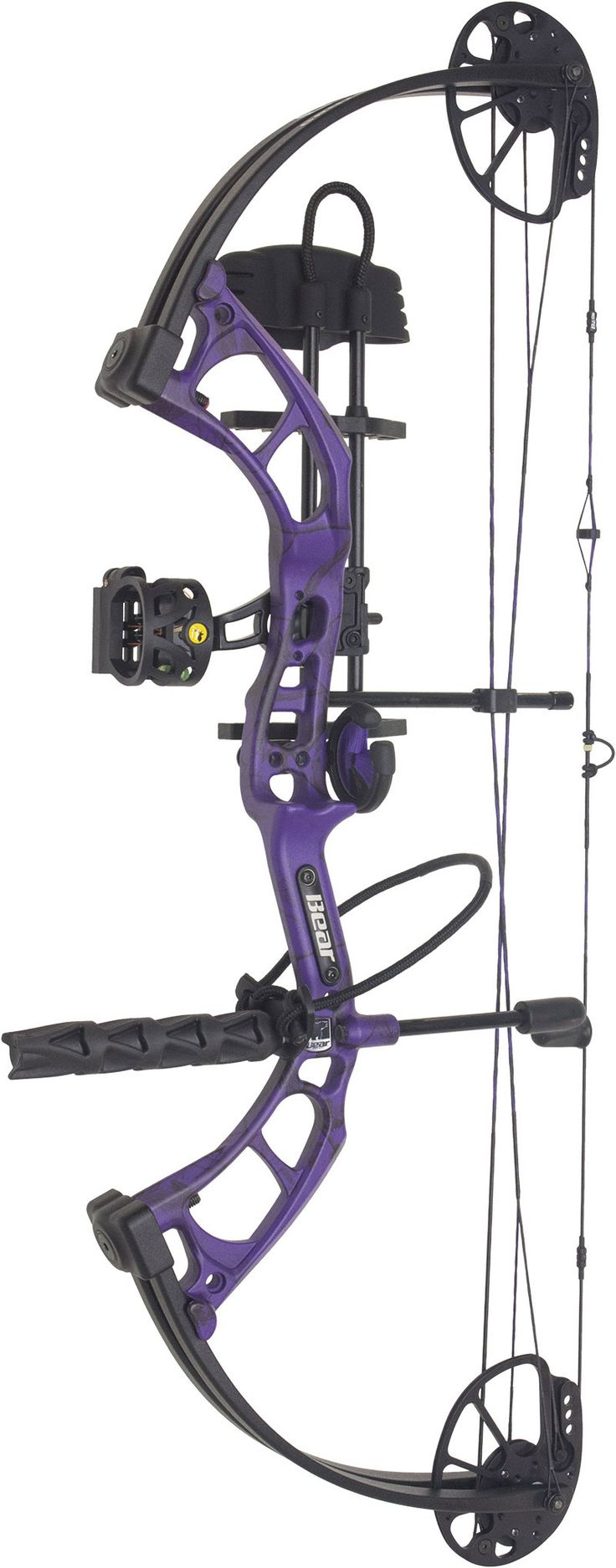 2015 bear purple cruzer compound bow package