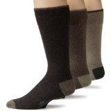 Dockers Men's 3-Pack Metro Crew Socks, Khaki Assort, 6-12 (Apparel)By Dockers