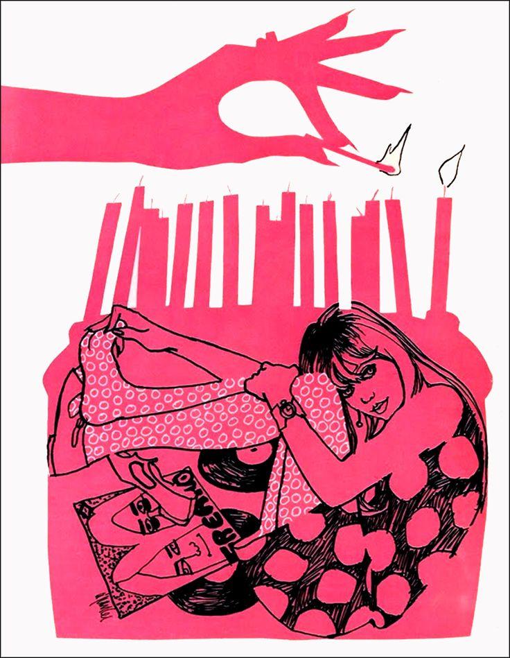 1967 Teen illustration.