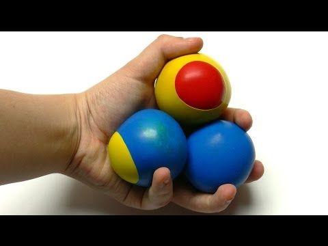 Knetbare Jonglierbälle selber basteln - Anleitung - YouTube