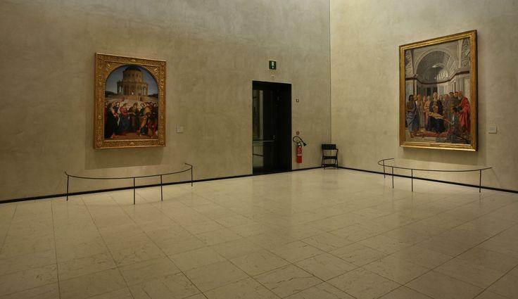 Raffaello, Piero della Francesca e Bramante, i tre  capolavori presenti in sala. #NBTWart #NBTW #MiBACTsocial