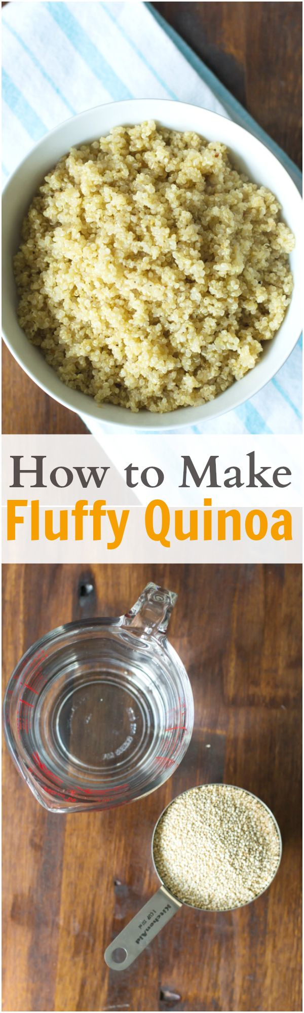 This photo tutorial will show you how to make fluffy quinoa. Making fluffy and delicious quinoa is easier than you think. primaverakitchen.com