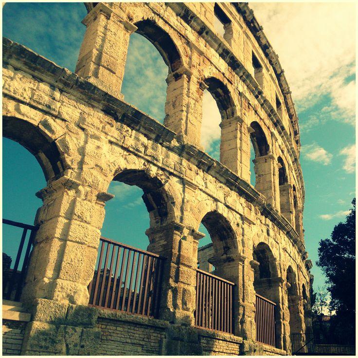 Arena Pula heute #Istrien #Kroatien