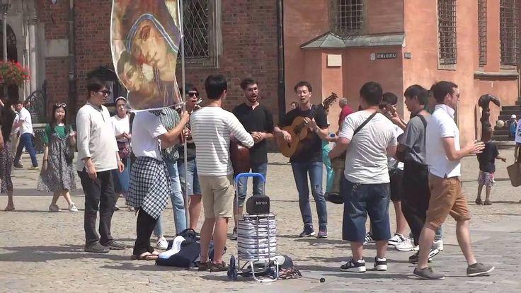 Światowe Dni Młodzieży we Wrocławiu - Koreańskie Alleluja na Rynku