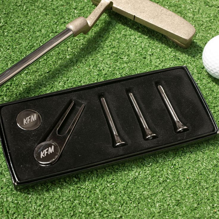 Personalised Golf Gift Set | Getting Personal.co.uk