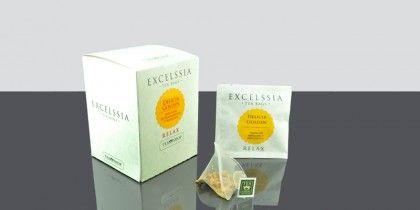 Excelssia Delicia Golden Una tónica y digestiva tisana de canela, trocitos de manzana y manzanilla.