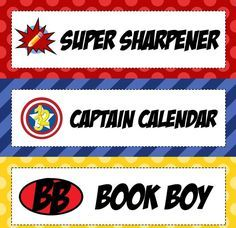 Superhero Classroom Helpers Bulletin Board Idea