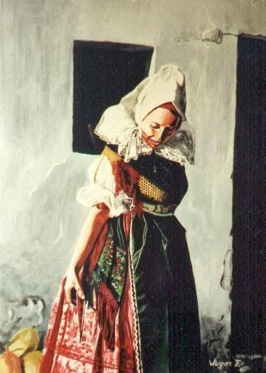 Kapuvári viselet (rábaközi hímzés)