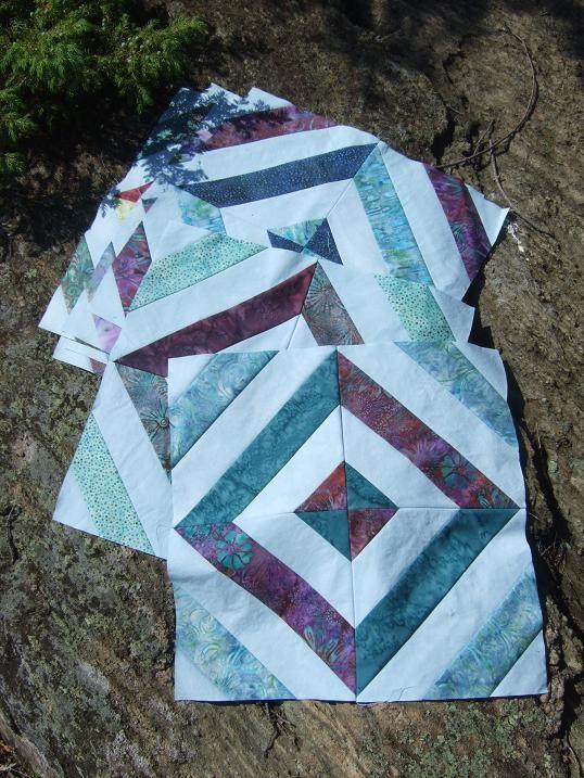 "Tamarack Shack. Missouri Star Quilt Company""s Summer in the Park"