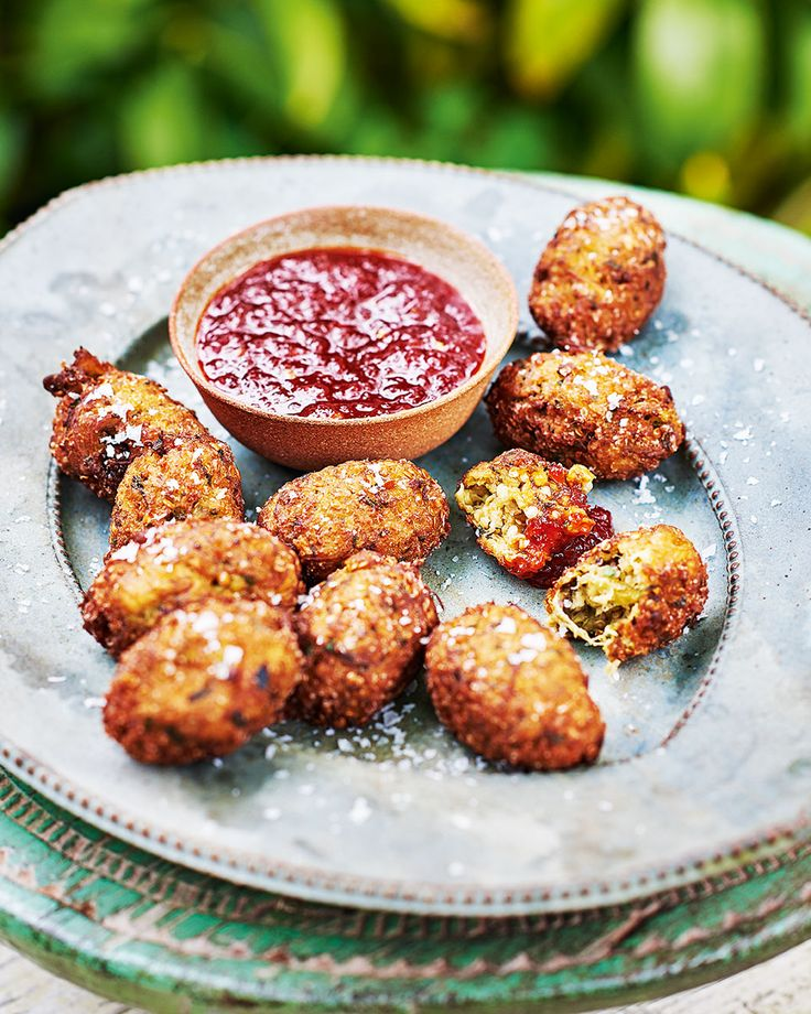 Francesco Mazzei knows how to get a dinner party started – crispy aubergine morsels paired with a firey jam – you'll be hooked from the first bite