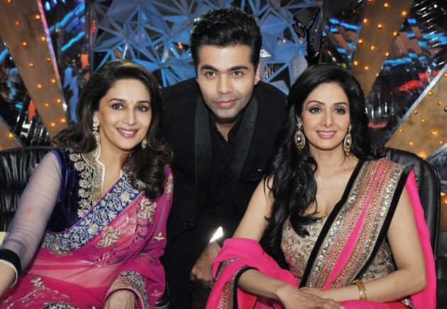 Madhuri & Sridevi...