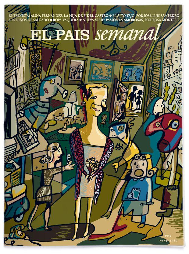 Ilustraciones de portada para El País Semanal.