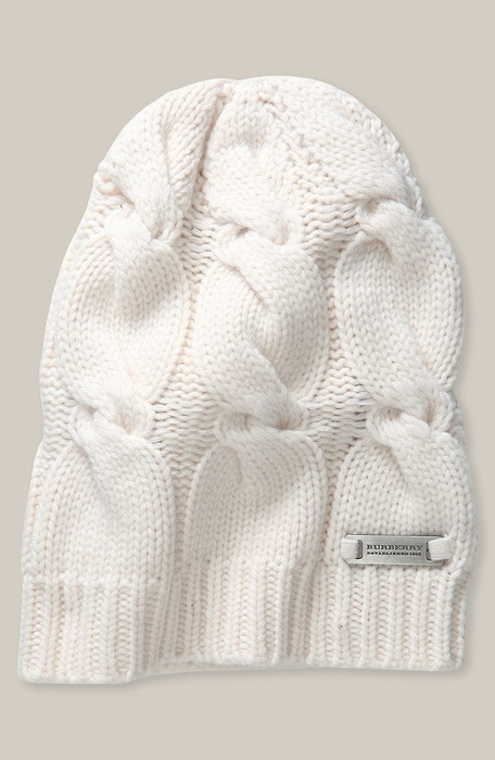 Burberry Cable Knit hat