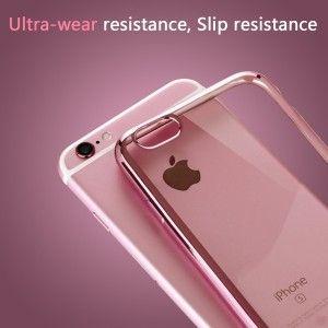 """iPhone 6S Custodia, KKtick® 4.7"""" Custodie in trasparente per iPhone 6 Rose"""