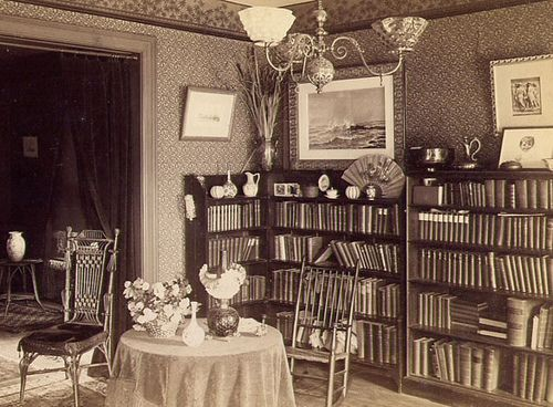 Victorian parlor 1890's by gaswizard, via Flickr