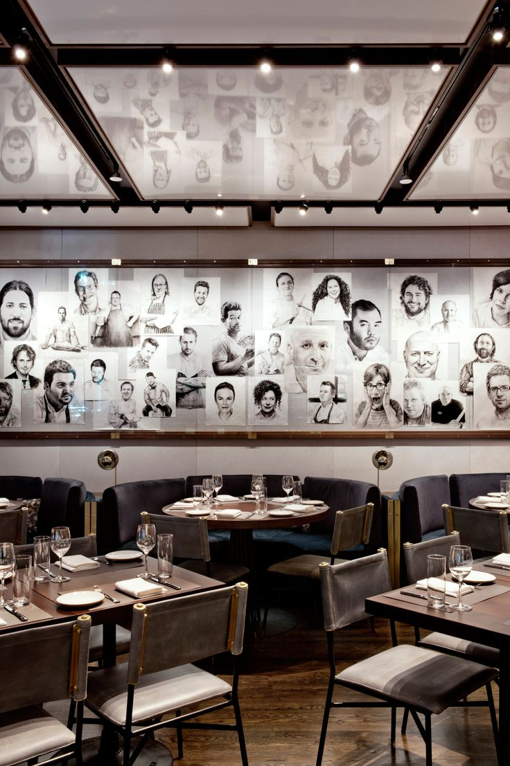 Rockwell Group, Ranked #4. Project: Chef's Club by Food & Wine. Location: New York, NY. Photography by Emily Andrews.
