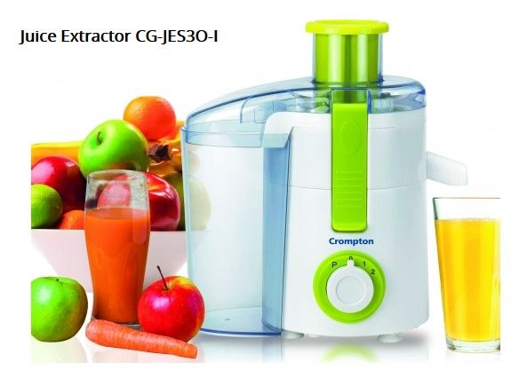 Buy Juice Extractor at Best Price in India by Crompton Buy online easy to operate and energy efficient Crompton's vegetable & fruit juice extractors at best price in India. Choose from wide range of modern and elegant designs at Crompton India. For more details visit at  http://www.crompton.co.in/juicer/
