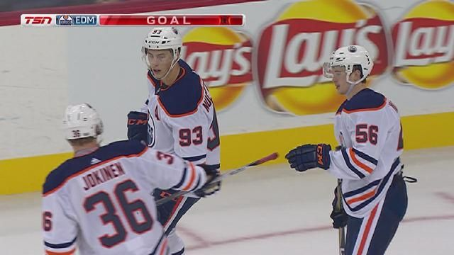 The Oilers tallied three goals in the 2nd, with Mark Letestu and Jujhar Khaira each scoring goals 13 seconds apart, to down the Jets
