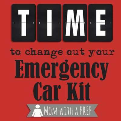 It's time to change out that car kit - As the seasons change, so should your kit to reflect the needs of the season. It's a great time to refresh and restock, too! /// Mom with a PREP
