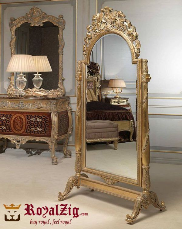 Stand Alone Big Grand Mirror Frame | Living room mirrors ...