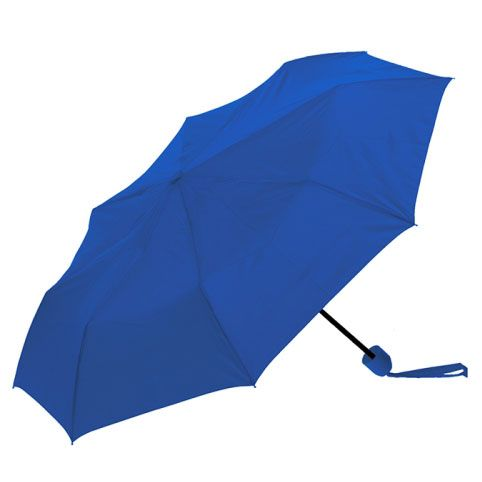 This convenient Clifton 3 Fold Mini Maxi Series Compact Cobalt Blue umbrella is a compact rain umbrella that you will just love! Take it with you on the go!