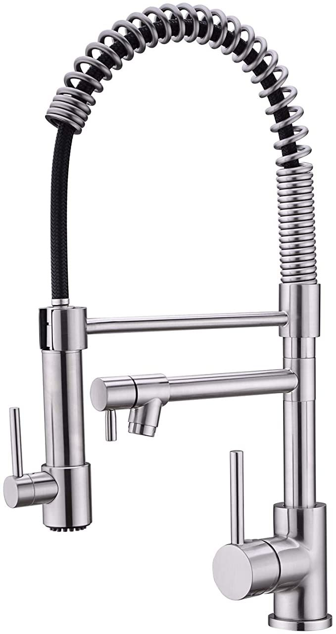 heouty commercial kitchen sink faucet