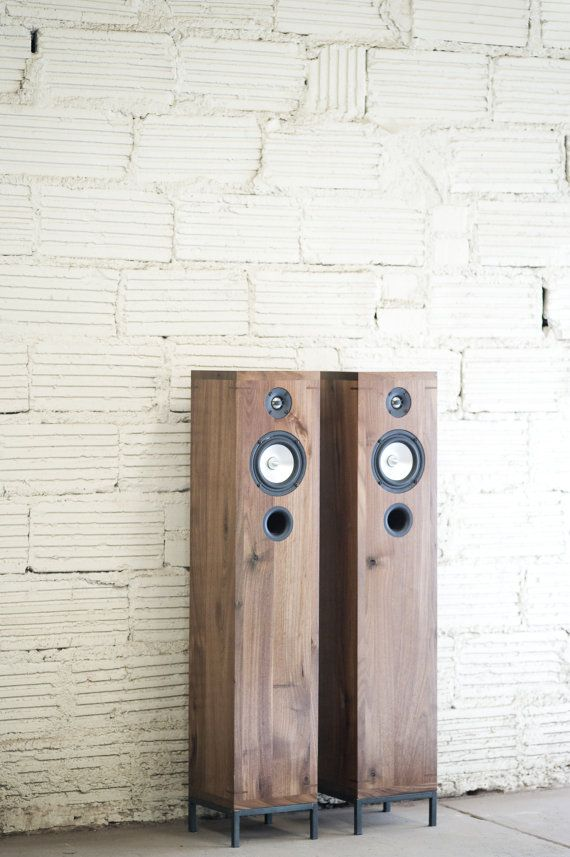 Walnut speakers. Beautiful. https://www.etsy.com/listing/186577928/walnut-speakers-2-way-furniture-style-hi