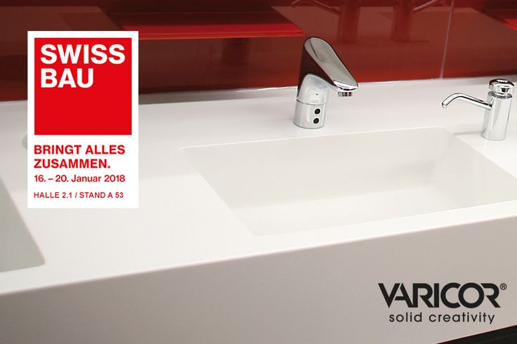 VARICOR ® presented at SWISSBAU. The company Meyer will represent us and will offer many inspirations about the uses of VARICOR ®. #bathroom #bathroomcorner #bathroom #bathroomdesign #bathroomfurniture