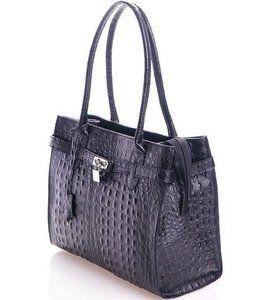 78bd085b7cc Trendy croco zwarte leren schoudertas Deze tas is te gebruiken als  schoudertas. #trendywoman   Leren Croco tassen - Bags en Tops