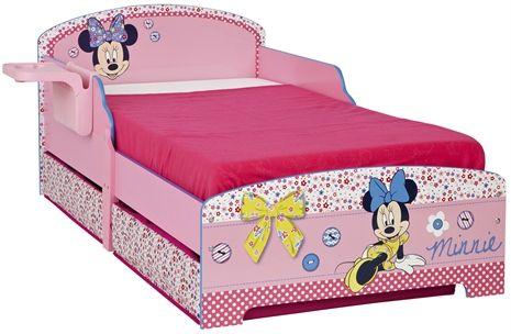 Minnie Mouse, Säng med hylla & förvaring Sängar och sängkläder Barnrum Inredning på nätet hos Lekmer.se