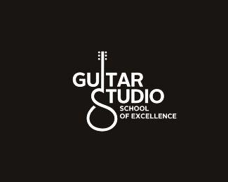 Logo Design - GUITAR STUDIO