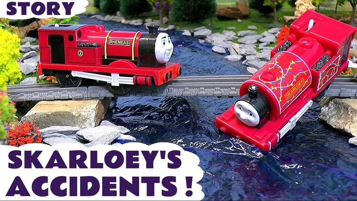 Thomas and Friends Toy Trains for kids - Skarloey's Accidents - Train To...