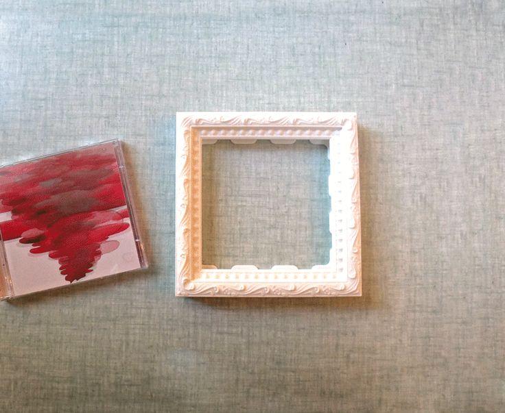 Mejores 9 imágenes de CD Frame en Pinterest