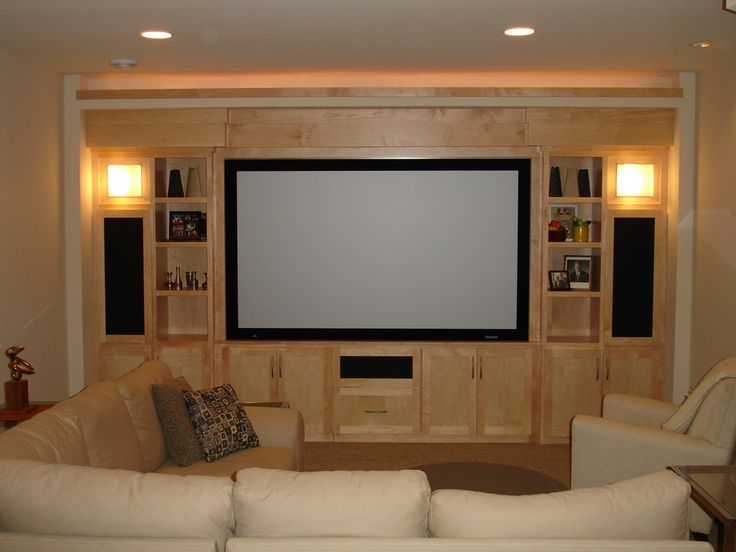 25 Best Custom Entertainment Center Ideas On Pinterest