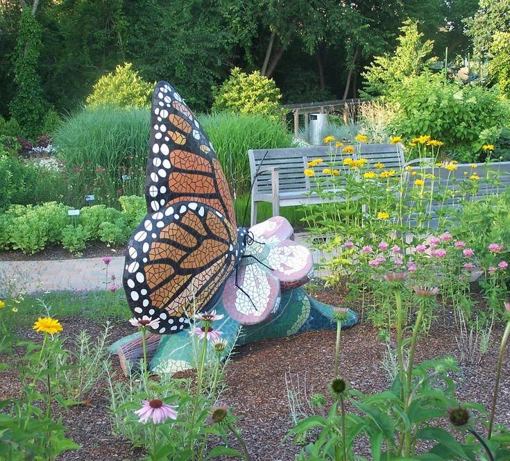 Garden Of Healing And Renewal   Butterfly Mosaic   June 2010