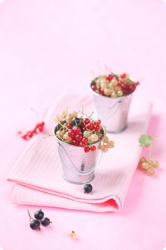 Blueberry mousse pie, cherry bird and elder flower